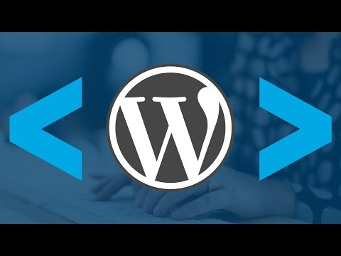 WordPress codex template pages
