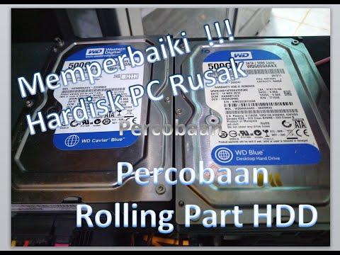 Cara Memperbaiki Hardisk  PC  Rusak #Part1