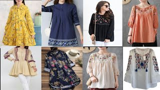 Download Ladies Short Shirts and Peplum Style Ideas || Beautiful Ladies Short Shirts