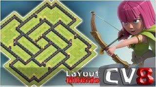 Layout Híbrido Cv8 Atualizado