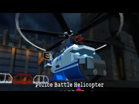 LEGO Batman: The Video Game Part28 - Police Battle Helicopter  