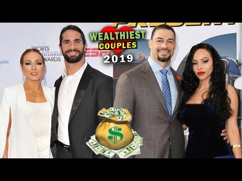 10 Wealthiest WWE Couples 2019 - Seth Rollins & Becky Lynch, Roman Reigns & Wife