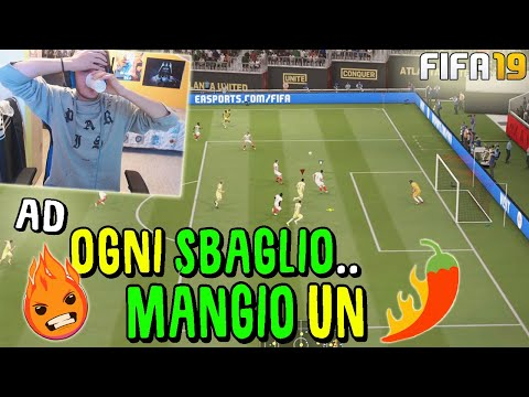 AD OGNI SBAGLIO..MANGIO UN PEPERONCINO! (Speciale 30k) - Fifa 19
