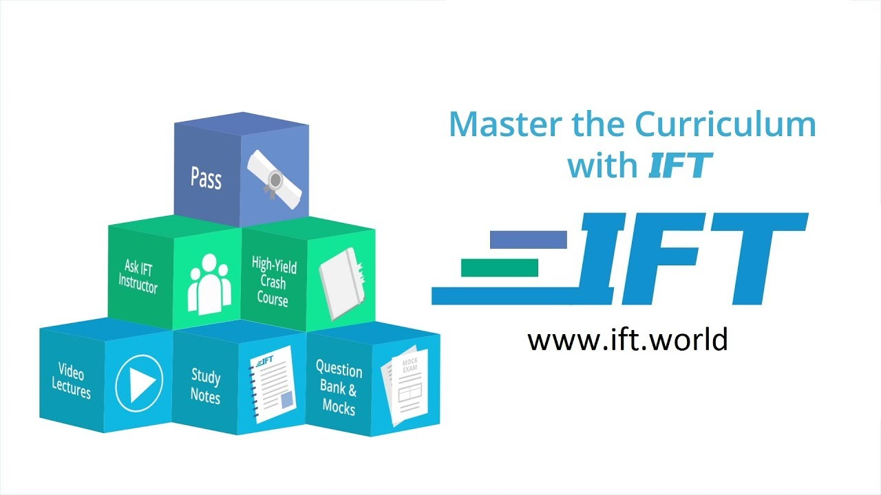 IFT World - Welcome to the IFT Learning Portal