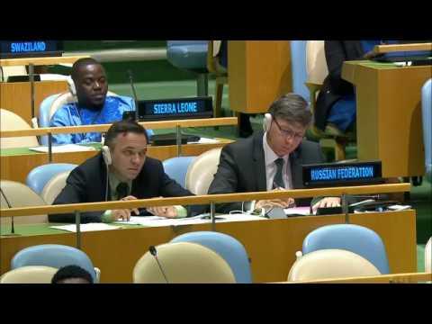 Премьер Молодовы на Генассамблее: приднестровский конфликт легко можно было бы разрешить