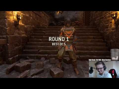 For Honor Stream Moments #2 - Honorable Player