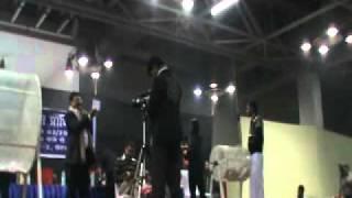 Greater Noida Zeta Plot Scene live draw at 11 am...at India Expo mart...