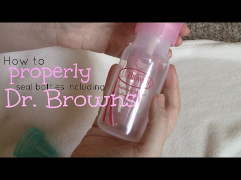 How To Seal A Bottle For Reborn Baby Including Dr Brown