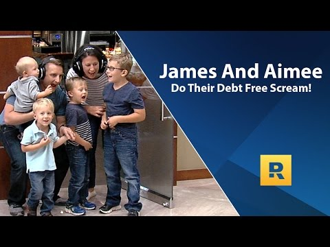 James and Aimee's Debt Free Scream! Paid off $136,000 in 47 months.