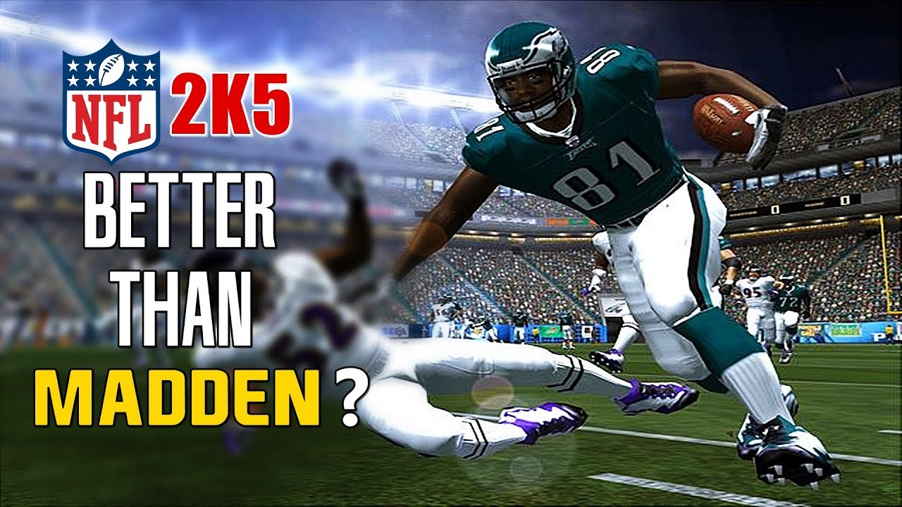 American Football Games Online: Is NFL 2K5 The Best American Football Game?