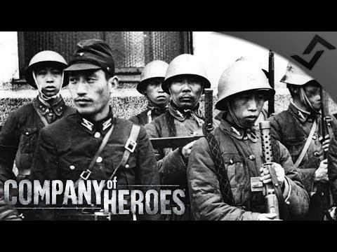 Japan vs China Wave Defense - Company of Heroes: Far East War Mod