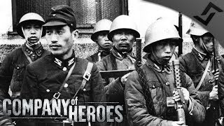 Japan vs China Wave Defense - Company of Heroes: Far East War Mod
