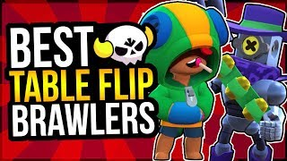 BEST Brawlers for BIG GAME TABLE FLIP! Maximize Your Tokens! (Brawl Stars)