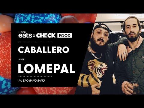 Caballero & Lomepal #CheckFood