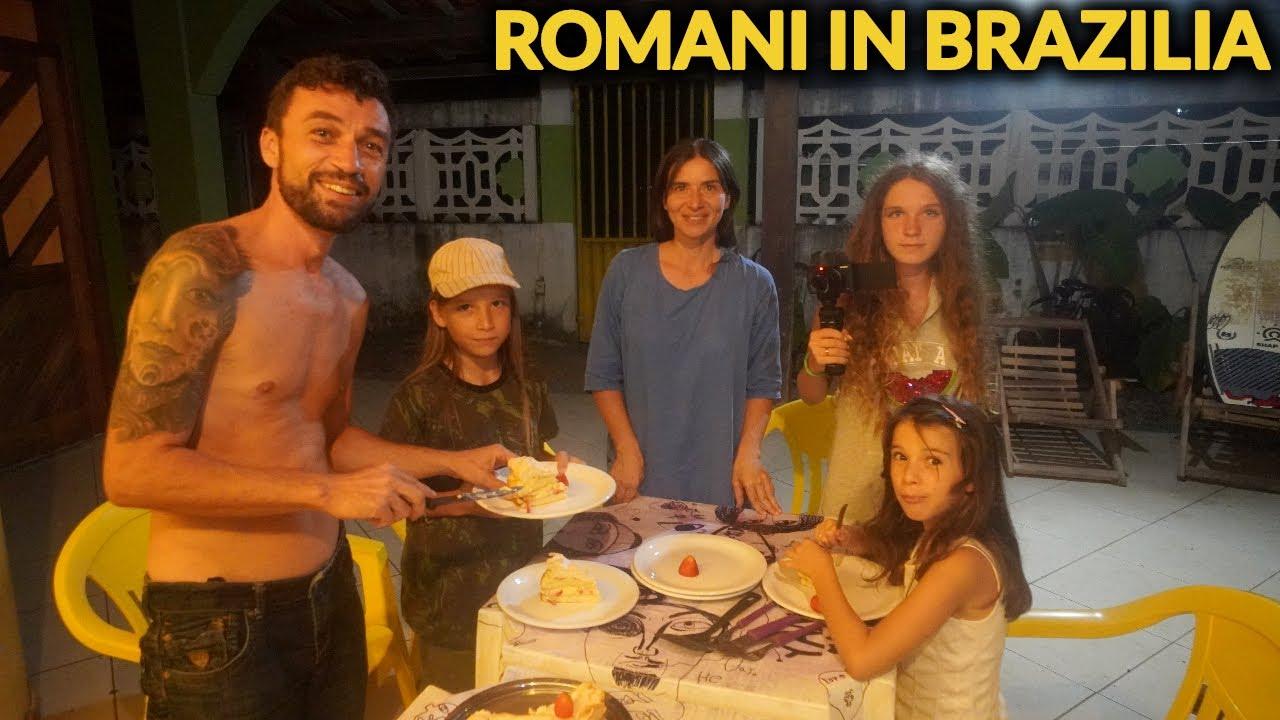 AM INTRAT IN CASA PESTE O FAMILIE DE ROMANI...in BRAZILIA