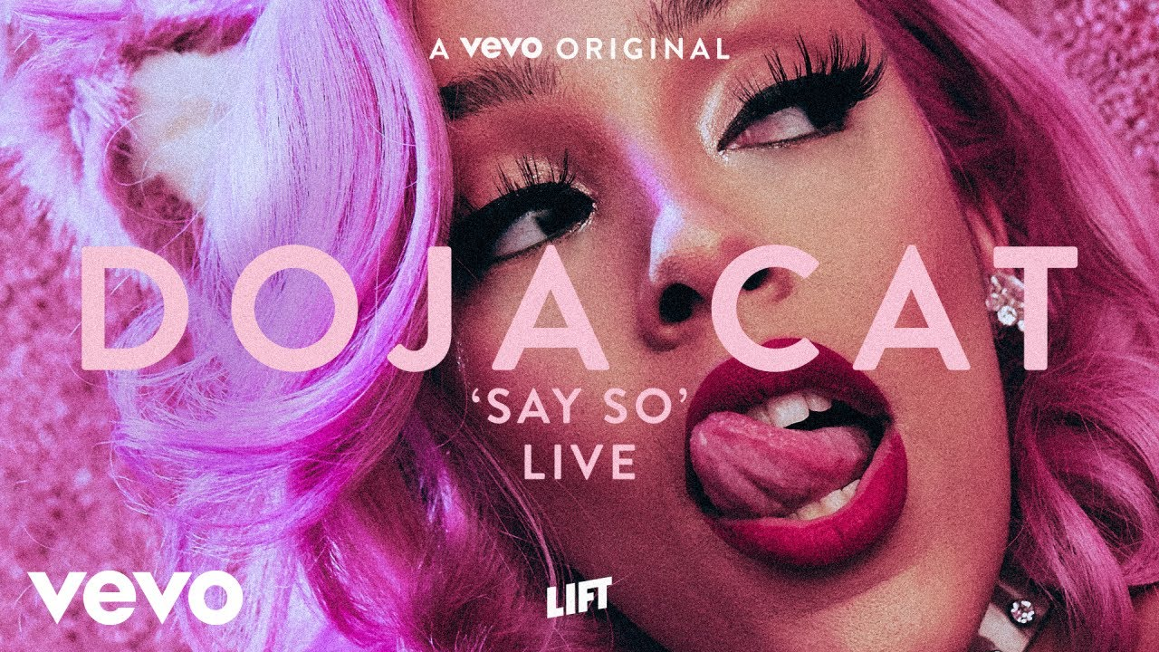 Doja Cat - Say So (Live Performance) | Vevo LIFT