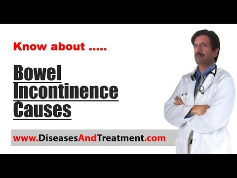 Causes of Bowel incontinence (fecal incontinence)