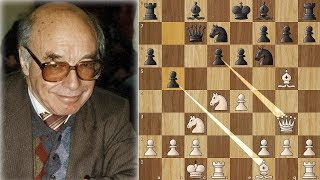 Bronstein Spent 58 Minutes on his 9th Move - Know this Game!