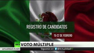 Finaliza la etapa de registro de candidatos para las elecciones de México