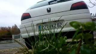 Peugeot 306 1L9 D Cold Start Back