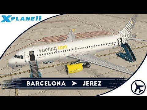 Por fiiiiiin | BCN - XRY | A320 (Beta) [Flight Factor] | XPlane 11