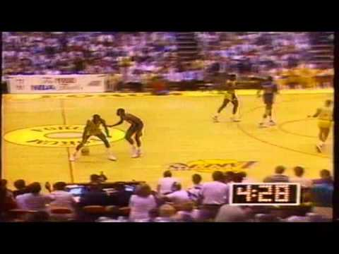 1988 NBA Finals Game 7 Lakers vs. Piston - 4th Quarter