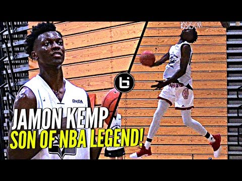 Shawn Kemp's Son Is NICE w the Rock! Jamon Kemp Droppin' Dimes & Windmillin' at Pangos!