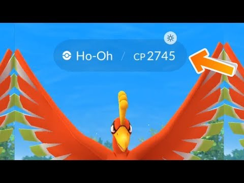 Download Youtube: New Increased CP Ho-Oh During Sunny Days!  Pokemon Go Gen 3 Raid Update