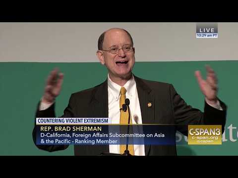 Congressman Sherman Speaks at the Hudson Institute Conference