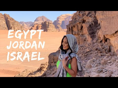 Egypt, Jordan, Israel Vlog