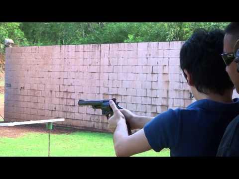 S&W M29 実弾射撃