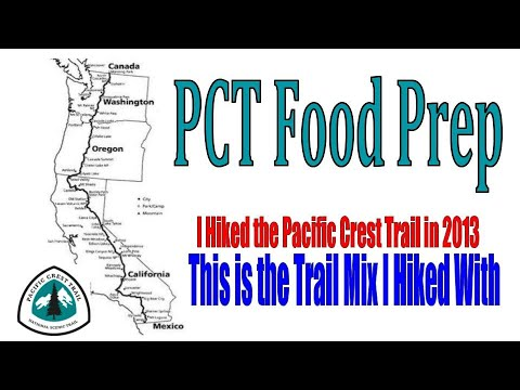 Homemade Trail Mix for PCT thru hike