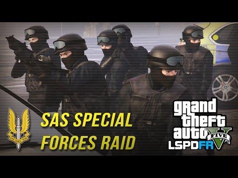 GTA 5 LSPDFR - SAS SWAT RAIDS! - The British way #56