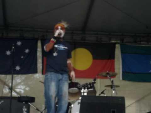 DK ROOM 411 live at NAIDOC Brisbane 2008