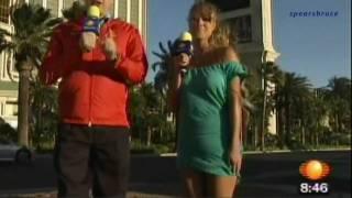 Vanessa Huppenkothen DESCUIDO !!!Televisa deportes