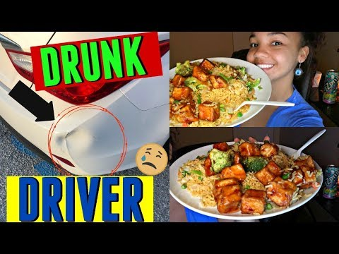 Eat With Me | Vegan Chinese Take-Out | Storytime | Car Accident