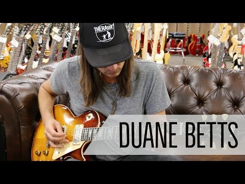 Duane Betts - 1959 Gibson Les Paul Conversion & his father's 1956 Fender Stratocaster