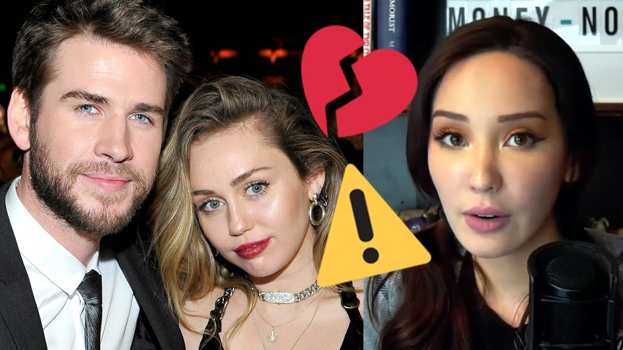 RED FLAGS in Relationships: Miley Cyrus & Liam Hemsworth Split