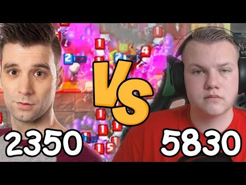 DAVID vs NUMMER 1 SPELER VAN EUROPA!! CLASH ROYALE #22