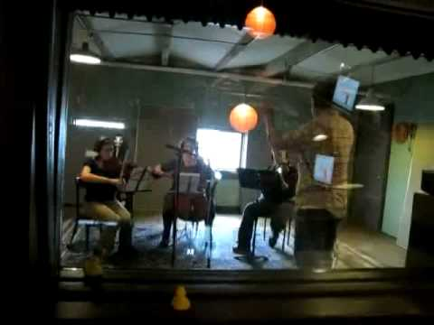 Blue Cranes string trio session