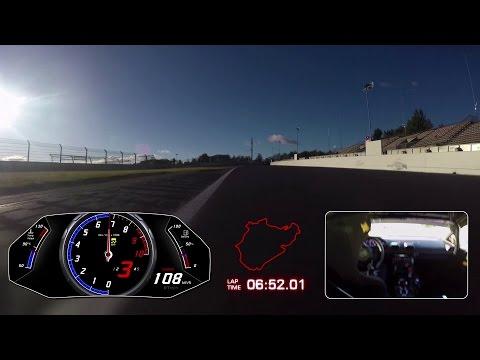 Lamborghini Huracán Performante record at the Nürburgring