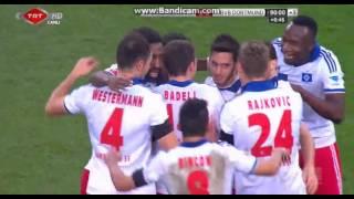 Hakan Çalhanoğlu Harika Gol (Hamburg 3-0 B.Dortmund)