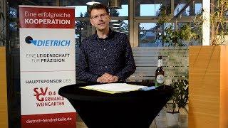 EU-Abgeordneter Daniel Caspary spricht beim Infoabend des SV Germania Weingarten