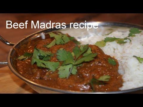Beef Madras Recipe