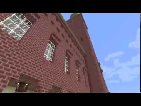 Stockholm City Hall in Minecraft