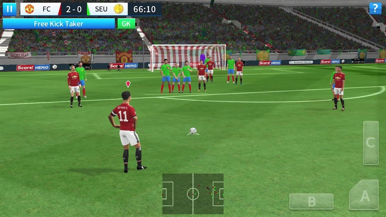 c0816ce6a Dream League Soccer 2018 Android Gameplay  11 - YouTube