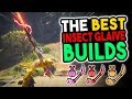 UPDATED Best Insect Glaive Builds - Monster Hunter World [MHW Best IG Builds]