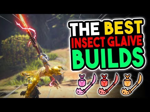 UPDATED Best Insect Glaive Builds - Monster Hunter World [MHW Best IG Builds] thumbnail