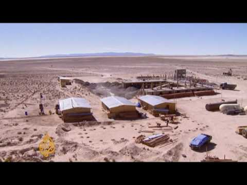 Bolivia eyes lithium deposits - 05 Apr 09