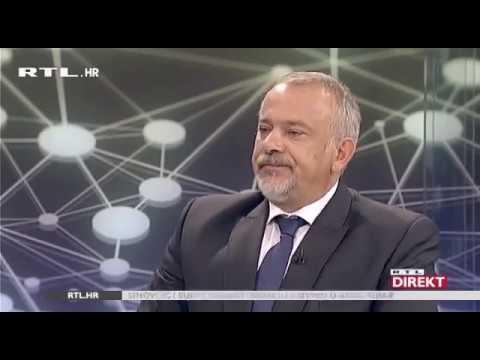 Predsjednički kandidat Milan Bandić u RTL Direktu